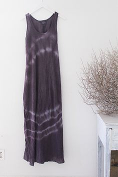 COTTON GAUZE TANK LONG DRESS @lovetanjane