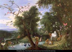 The Garden of Eden - Jan van Kessel
