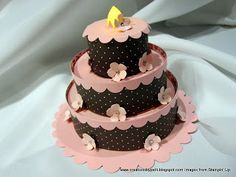 Tiered Cake -DIY- Creations by Patti