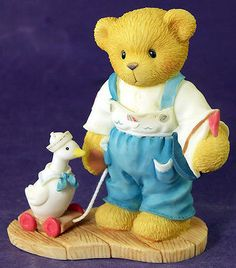 CHERISHED TEDDIES Cherish the Little Things ALEX with Toys 368156 NIB 1998