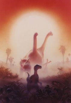 Jurassic Park by John Alvin [©1993]