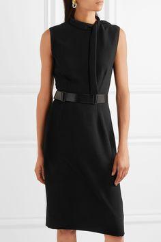 Bottega Veneta | Belted crepe dress | NET-A-PORTER.COM