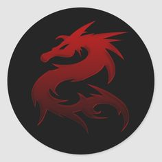 Shop Red Dragon Design 1 :: Fantasy Stickers created by Personalize it with photos & text or purchase as is! Fantasy Dragon, Fantasy Art, Red Dragon Painting, World Of Fantasy, Dragon Design, Weird And Wonderful, Vinyl Projects, Round Stickers, Custom Stickers