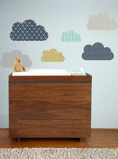 Nuages de Geo  WALL DECAL par TheLovelyWall sur Etsy
