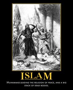 Islam is NOT repeat NOT a Religion of Peace! Muslims are sick twisted evil bastards! Muslim Religion, Islam Muslim, Ban Islam, Muslim Brotherhood, Sharia Law, Atheism, Muhammad, Satan, Christianity
