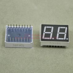 (10pcs/lot) LED Display 5621BR 0.56 Inch 2 Digits 7 Segment Red LED Display 18 Pins Share Common Anode Digital Display