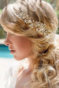 Orchid vine headpiece from @islandbridals Perfect accessory for a wedding