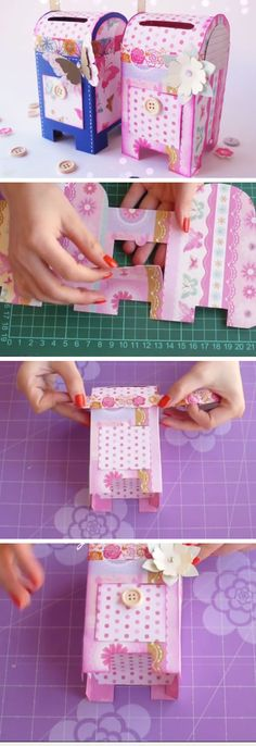 Pretty Mini Mailbox | 18 DIY Summer Art Projects for Kids to Make | Easy Art Projects for Girls