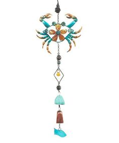Another great find on #zulily! Crab Marine Life Wind Chime #zulilyfinds