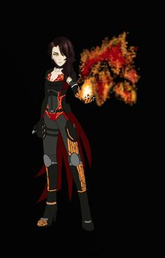 Cinder Fall - Armored Attire (Color Base)
