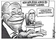 Mark Wiggett introduces Zuma's latest NPA appointment. The Herald Port Elizabeth