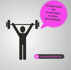 El ejercicio no es un lujo
