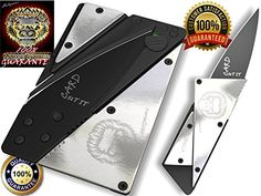 http://www.amazon.com/Survival-Stainless-Practical-Lightweight-Guarantee/dp/B0125CFIN4/ref=sr_1_2?s=hi&ie=UTF8&qid=1438497136&sr=1-2&keywords=credit+card+knife Credit Card Sized Folding Wallet Knife- This Is the Perfect  Pocket or Survival Tool, and It Looks Great with Durable, Polished Stainless Steel. It's Cool, Portable, Practical, and Lightweight with a 100% Lifetime Guarantee. We Know You'll Love It!! CUT IT CARD http://www.amazon.com/dp/B0125CFIN4/ref=cm_sw_r_pi_dp_-LBVvb0B30A5K