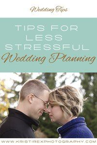 Tips For Less Stressful Wedding Planning - Kristi Rex Photography - Stratford, ON