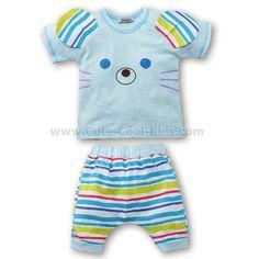 เสื้อผ้าเด็ก - ชุดเด็กเสื้อแขนกุด+กางเกง - 100 120 ~ 259.00 บาท >>
