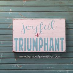 - description - Specs Add a little touch of Christmas to your home decor! Completely hand painted on a quality pine board, this sign is weather worn with and robin egg blue and red letters. It's then