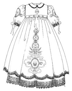 2009 Christening Gown | Internet Embroidery Club