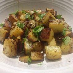 Pan Fried Potatoes with Cumin Seeds