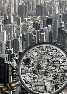 Peter Kennard (b. 1949, London, England) - Through The Glass, 2013 Photomontage Digital Photography Cityscapes