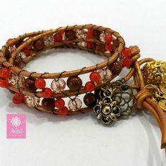 """""""Elegancia no es ser notado, es ser recordado"""" - Giorgio Armani  #neacreations #jewelry #bracelet #bracelets"""