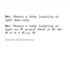 Muslim humour.