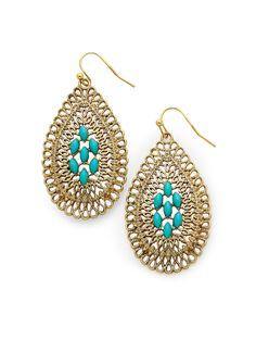 Felicity Oval Earrings $24