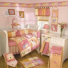Tropical Punch 6 Piece Crib Bedding Set Cocalo Comforter Bumper Sheet Ruffle NEW #Cocalo