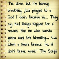 Breakeven by The Script