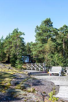 Sauna Kirkkonummella Saunas, Outdoor Furniture Sets, Outdoor Decor, Suede, Modern, House, Steam Room