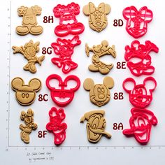 Disney Finds - Disney Inspired Cookie Cutters