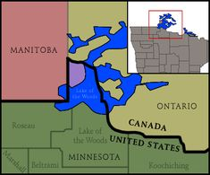 5. Angle Township in Minnesota Can Only Be Reached By Crossing Lake of The Woods Or Through Canada