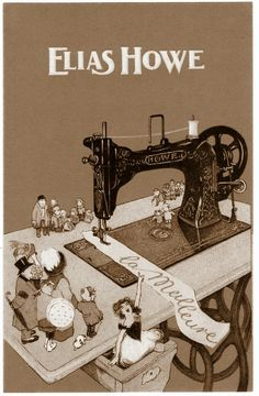 Elias Howe Sewing Machine Patent