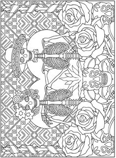 Free Coloring Pages: dover publications free coloring pages Adult Coloring Pages, Printable Coloring Pages, Colouring Pages, Free Coloring, Coloring Sheets, Coloring Books, Silkscreen, Dover Publications, Halloween Coloring