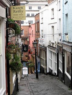 Christmas Steps in Bristol. A magical place full of lots of lovely shops and stalls.