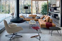 Living Room Designs, Living Spaces, Living Area, Deco Design, Living Room Interior, Sofa Set, Home Decor Inspiration, Decor Ideas, Home And Living