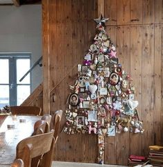 Wall christmas tree ideas