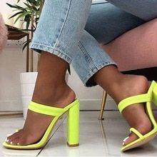 2019 de moda de las mujeres sandalias de tacones zapatos de tacón alto  zapatos-bombas 6cb3dd2d0753