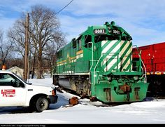 RailPictures.Net Photo: HBRY 5001 Hudson Bay Railway EMD SD50 at Ottawa, Illinois by Robby Gragg