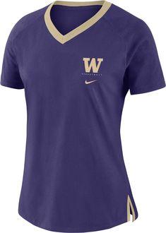 Nike Women s Washington Huskies Purple Tri-Blend Basketball Fan T-Shirt bcf7067a5