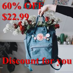 Image about grunge in kanken fjallraven 🎒🎒 by SalliLarsene' Swagg, Grunge, Aesthetic Backpack, Indie, Projects To Try, Hair Beauty, Valentines, Art Hoe, Crafty