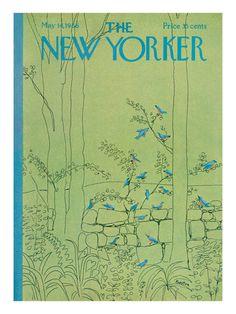 D. Preston - The New Yorker cover, 1966