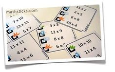 www.mathsticks.com | Making Maths Stick - Elements: the times table game