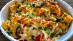 Naleśniki zapiekane z mięsem i warzywami - Blog z apetytem Best Appetizer Recipes, Good Healthy Recipes, Snack Recipes, Dinner Recipes, Cooking Recipes, Crepes, High Carb Diet, Good Food, Yummy Food
