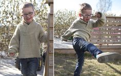 Lofty Handsome Sweater - in organic cotton by Pickles There are many sizes but only size 6 y is free