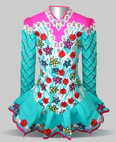 Elevation Design Irish Dance Solo Dress Costume