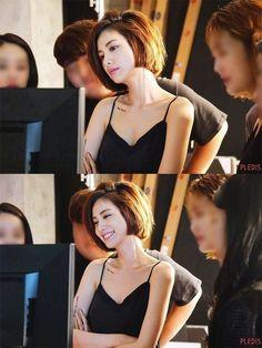 Baby Face Beautiful Cubby in 2019 Asian Short Hair, Asian Hair, Girl Short Hair, Short Girls, Short Hair Cuts, Shot Hair Styles, Long Hair Styles, Korean Beauty, Asian Beauty