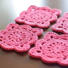 Bilderesultat for crochet coaster