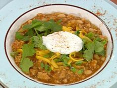 Turkey and White Bean Chili Recipe : Emeril Lagasse : Food Network