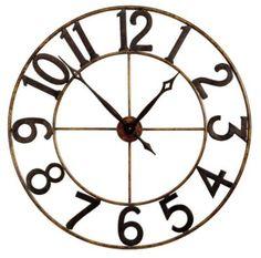 Homemakers Furniture: Wall Clock: CBK LTD., LLC: Accessories/Accents: Wall Art & Clocks