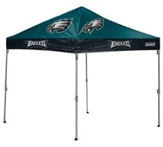 Footballs 21220: Philadelphia Eagles 10 X 10 Canopy - Coleman Tailgate Shelter Tent -> BUY IT NOW ONLY: $184.99 on eBay!